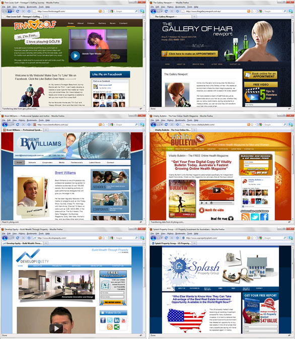 Sugoi previous websites using thesis for wordpress